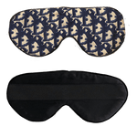 Vintage Dior Sleep Mask- Navy