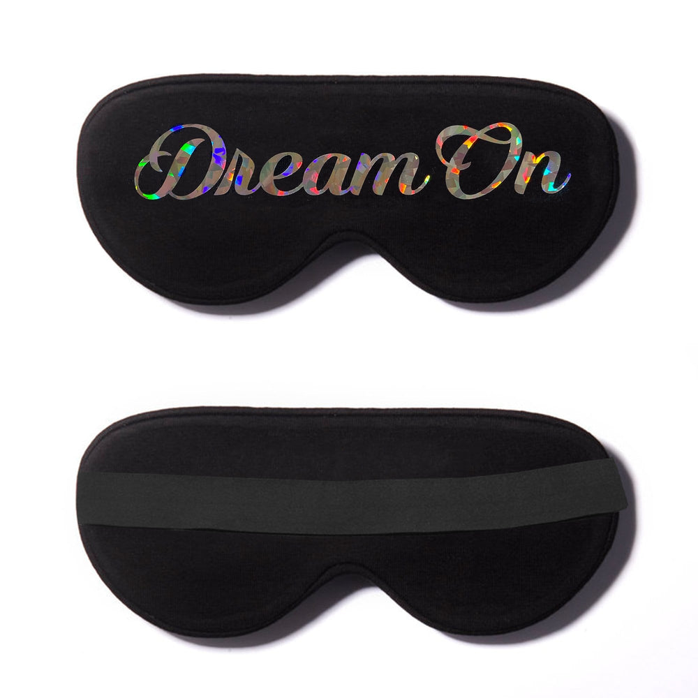 Dream On Holographic Cotton Lux Sleep Mask