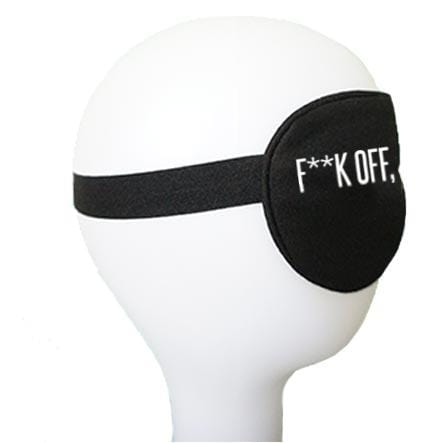 F**k Off, I'm Sleeping Cotton Lux Sleep Mask