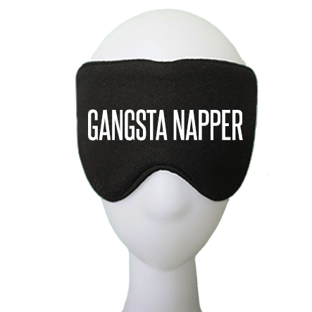 Gangsta Napper Cotton Lux Sleep Mask