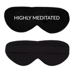 Highly Meditated Cotton Lux Sleep Mask