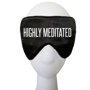 Highly Meditated Silk Sleep Mask