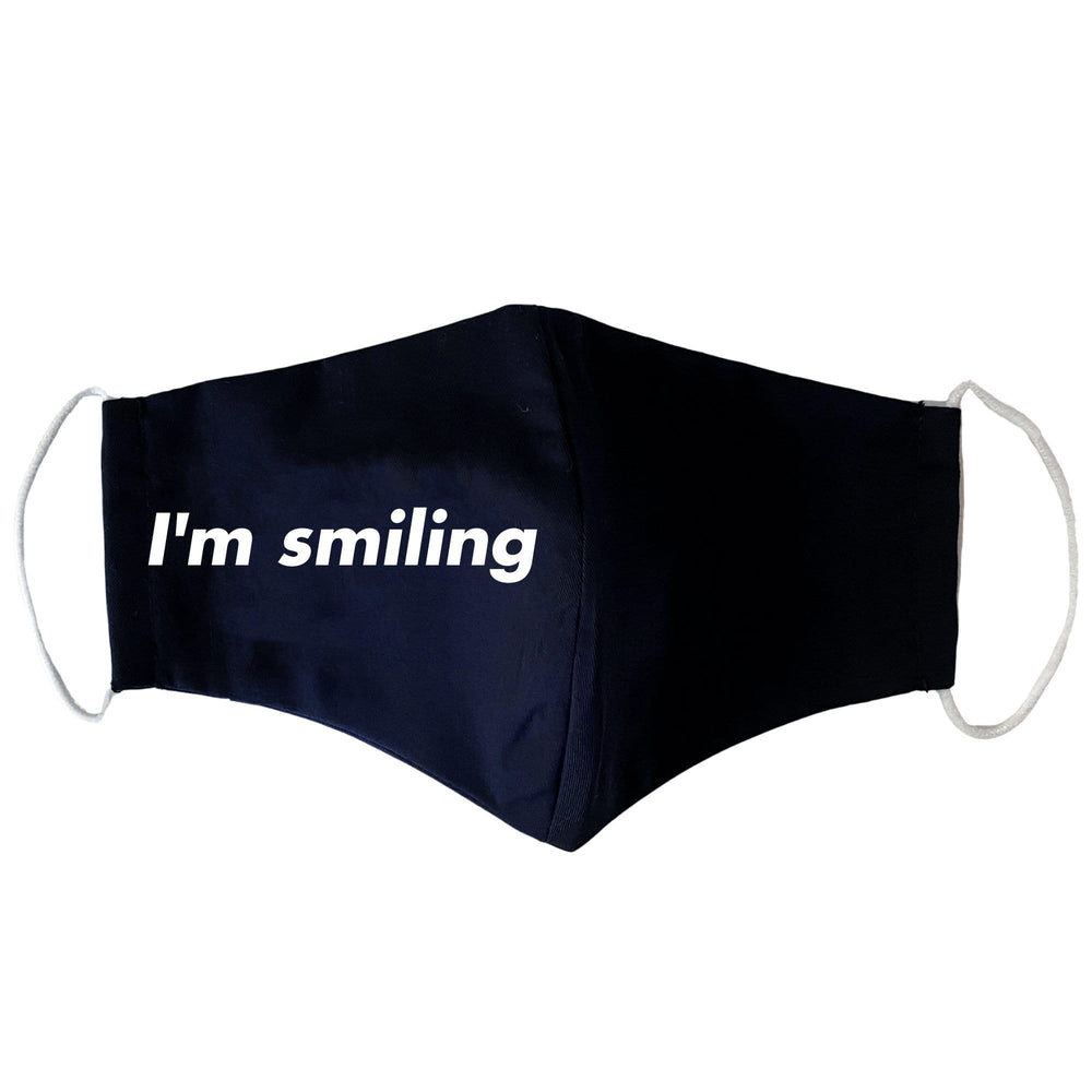 I'm Smiling Face Mask
