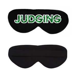 Judging Cotton Lux Sleep Mask