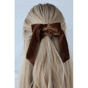CHOCOLATE BROWN SCRUNCHIE