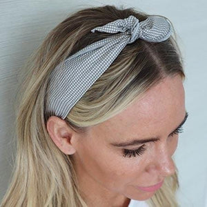 Light Grey Wire Headwrap