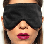 Black Silk Sleep Mask