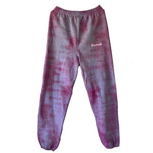 Bored Pink Tie Dye Sweatpants