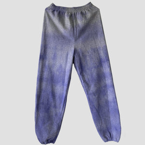 Purple Tie Dye Sweatpants