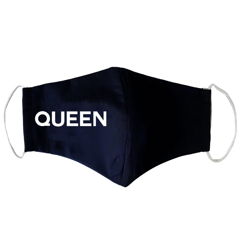 Queen Black Face Mask