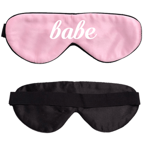 Babe Pink Silk Sleep Mask