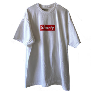Shorty Red and White T-Shirt