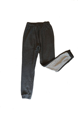 High Rise Jogger Two-Tone