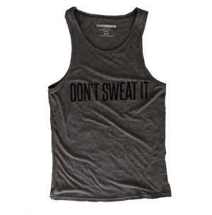 Don't Sweat It Racerback Tank Top