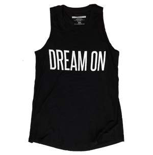 Dream On Long Racerback Tank Top
