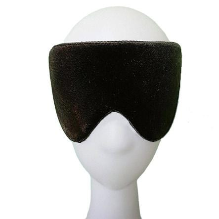 Black Silk Velvet Sleep Mask