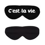 C'est la vie Cotton Lux Sleep Mask