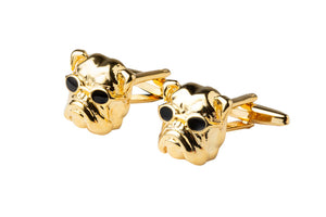 Pug With Shades Cufflinks