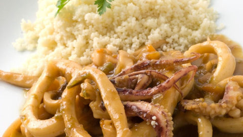 calamares al curry