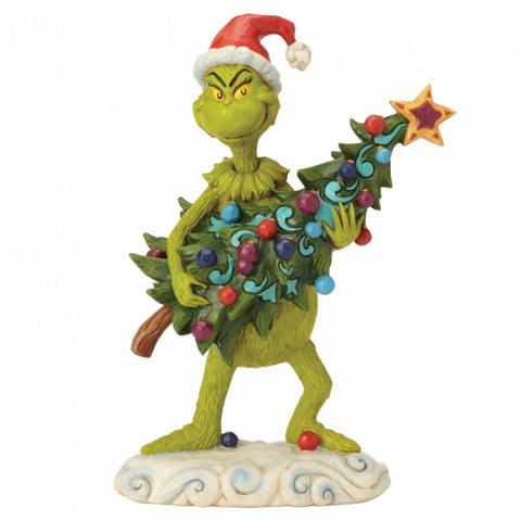 Grinch Stealing Tree Figurine PRE ORDER