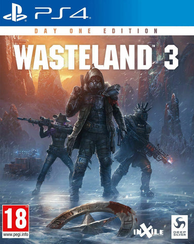 Wasteland 3 Day One PS4 Game