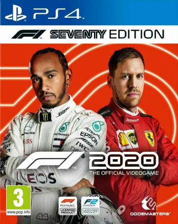 F1 2020 Day One Edition PS4 Game New