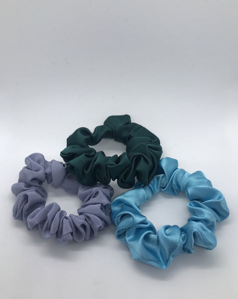 Bright Blue, Dark Green & Duck Egg Blue Bundle
