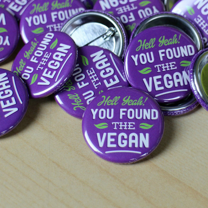 Found The Vegan button