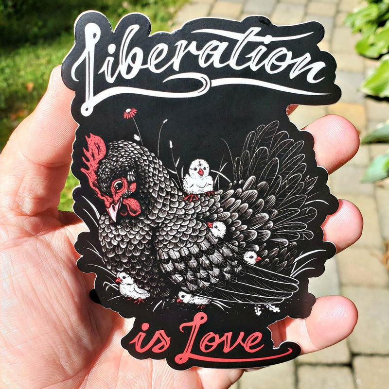 Liberation Is Love - Sticker