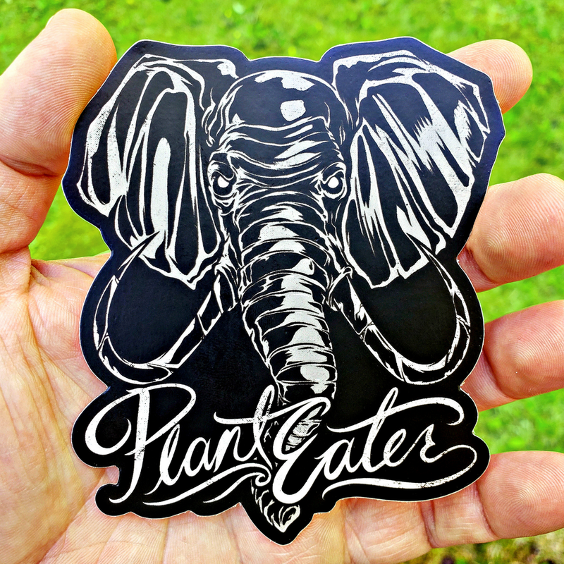 Plant Eater Elephant - Sticker