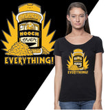 Nooch Over Everything! - Fitted Scoop Neck