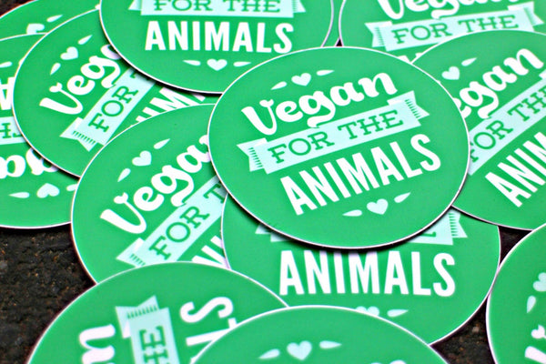 For The Animals - Circular Sticker