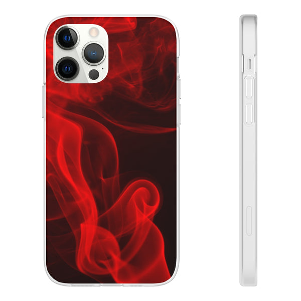 Red Smoke iPhone Case