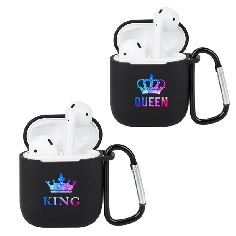King and Queen AirPods Case