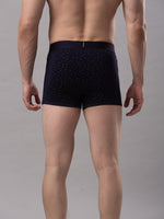 Load image into Gallery viewer, Underjeans Navy Blue Cotton Trunks - Pack of 2