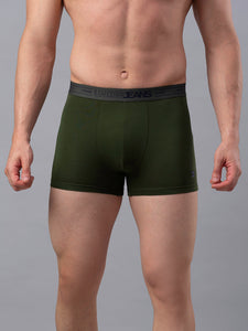 Underjeans Olive Cotton Trunk