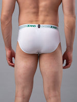 Load image into Gallery viewer, Underjeans White Cotton Briefs - Pack of 2