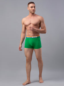 Underjeans Green Cotton Trunk