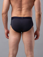 Load image into Gallery viewer, Underjeans Grey Cotton Brief - Pack of 2