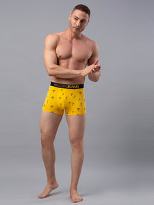 Underjeans Yellow Cotton Trunk