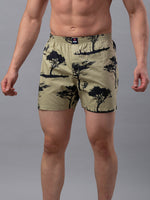 Load image into Gallery viewer, Underjeans Beige Cotton Boxers - Pack of 2