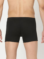 Load image into Gallery viewer, Underjeans Black Cotton Trunks Pack of 2