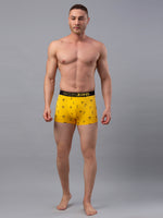 Load image into Gallery viewer, Underjeans Yellow Cotton Trunk - Pack of 2