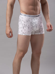 Underjeans White Cotton Trunks - Pack of 2
