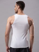Load image into Gallery viewer, Underjeans White 100% Cotton Vest (Round Neck)