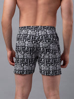 Load image into Gallery viewer, Underjeans Black Cotton Boxers