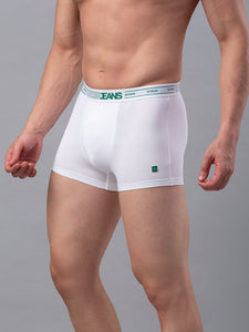 Underjeans White Cotton Trunk - Pack of 2