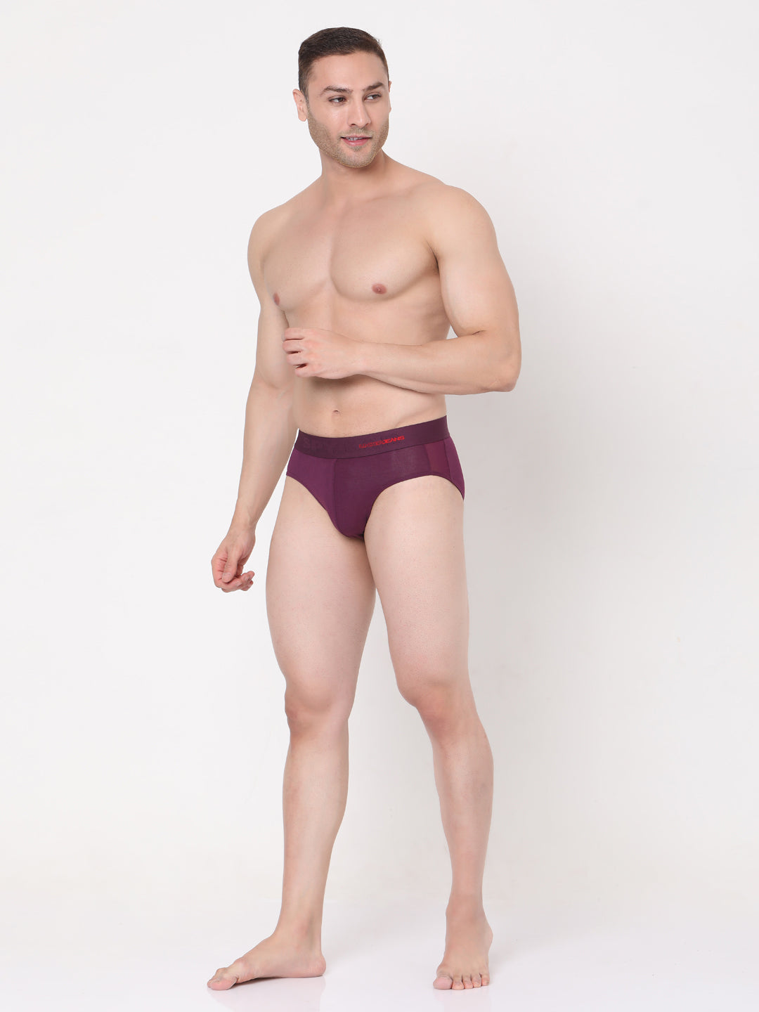 Underjeans PURPLE Cotton Briefs