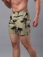 Load image into Gallery viewer, Underjeans Beige Cotton Boxers