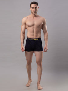 Underjeans Navy Blue Cotton Trunks - Pack of 2